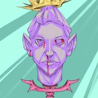 dying queen